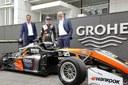Grohe sponsert aufstrebendes Motorsport-Talent