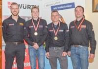 Tirol gewinnt den Bundeslehrlingswettbewerb der Installations- und Gebäudetechniker in Spittal/Drau